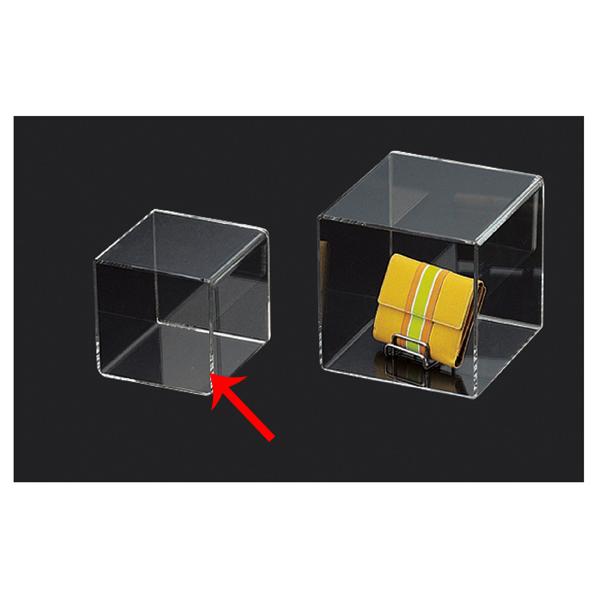 アクリル5面ボックス 透明 15cm角 5個