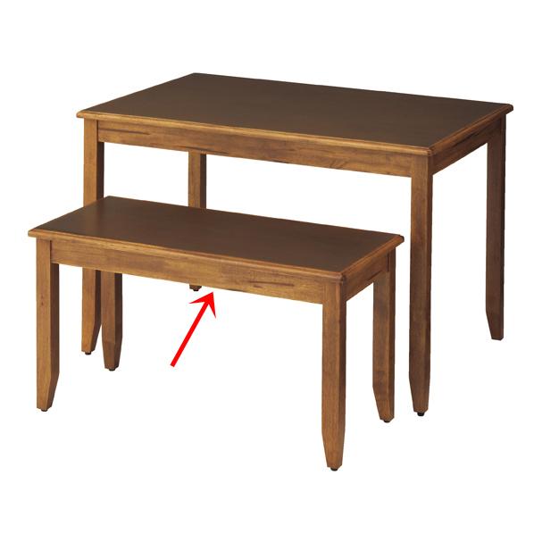 ナチュリア テーブル ブラウン W100 【 シリーズ什器 シリーズ什器(木製) 木製デザイン什器 ナチュリア テーブル ブラウン 】