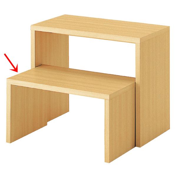 木製コの字型テーブル 小 エクリュ色 Aタイプ