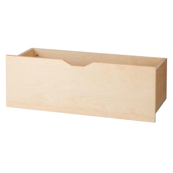 木製収納トロッコW90cm エクリュ 1台
