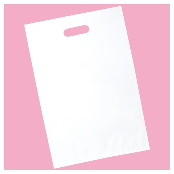 ポリ袋ソフト型 白 25×40cm 2000枚 【 ラッピング用品 レジ袋・ポリ袋 スクエアバッグ(無地) ポリ袋ソフト型 白 】