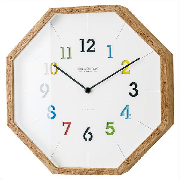 壁掛け時計 ファロス ホワイト1台