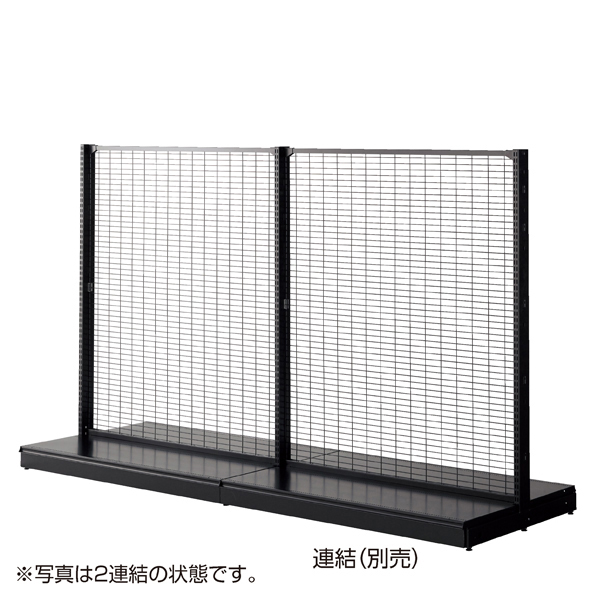 KZ両面ネット(75×25)W120H150 ブラック 本体