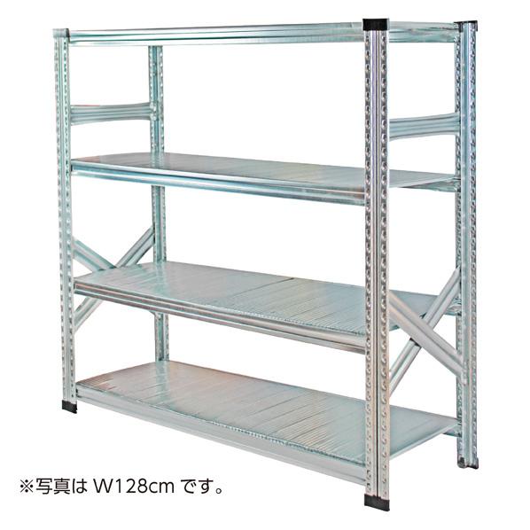 ★メタルシステム W98×H210 5段 【 シリーズ什器 メタルシステム 本体 メタルシステム 】
