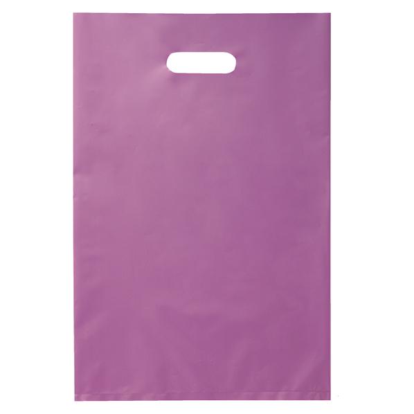 ポリ袋ソフト型 パープル 25×40cm 2000 【 ラッピング用品 レジ袋・ポリ袋 スクエアバッグ(無地) ポリ袋ソフト型 カラー パープル 】