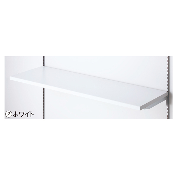 【まとめ買い10個セット品】 木棚セットW90×D30cm ホワイト
