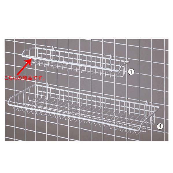 【まとめ買い10個セット品】 ネット用網棚 白 W42cm