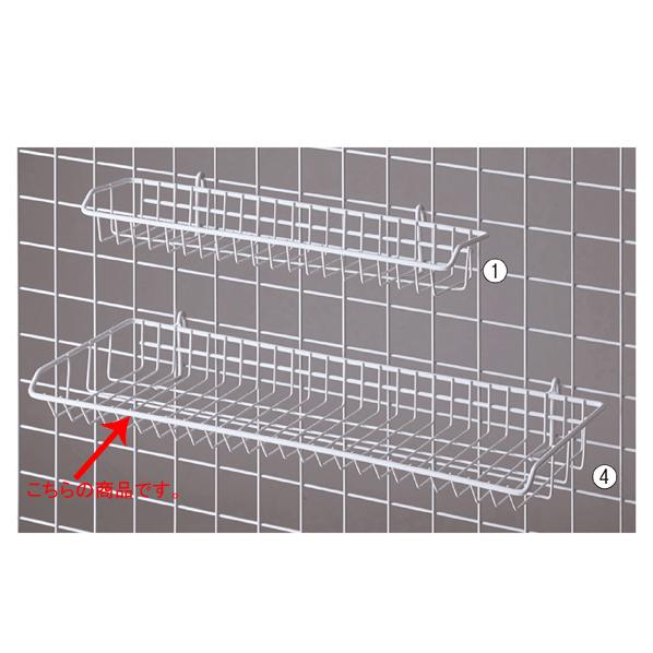【まとめ買い10個セット品】 ネット用網棚 白 W54×D20cm