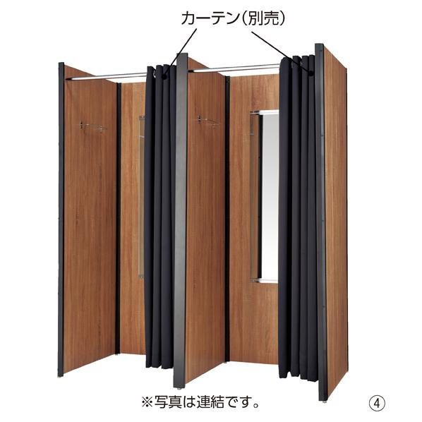 【まとめ買い10個セット品】 セレクトフィッティングルーム本体 ラスティック フレーム ブラック