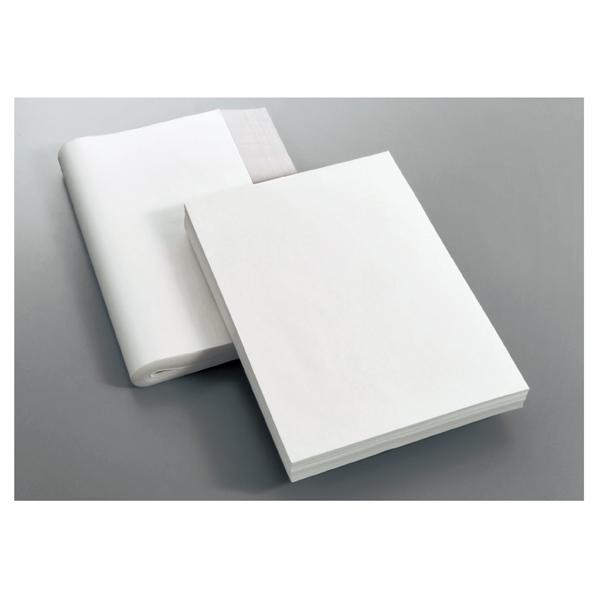 【まとめ買い10個セット品】 白生花用耐水紙 厚口53×77cm 500枚
