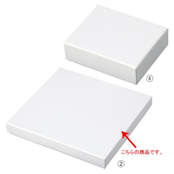 【まとめ買い10個セット品】 フェザーケース ホワイト 19.4×18.4×2.6cm 6個