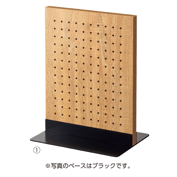 【まとめ買い10個セット品】 両面有孔パネルS 40×30cm ラス+ベースホワイト
