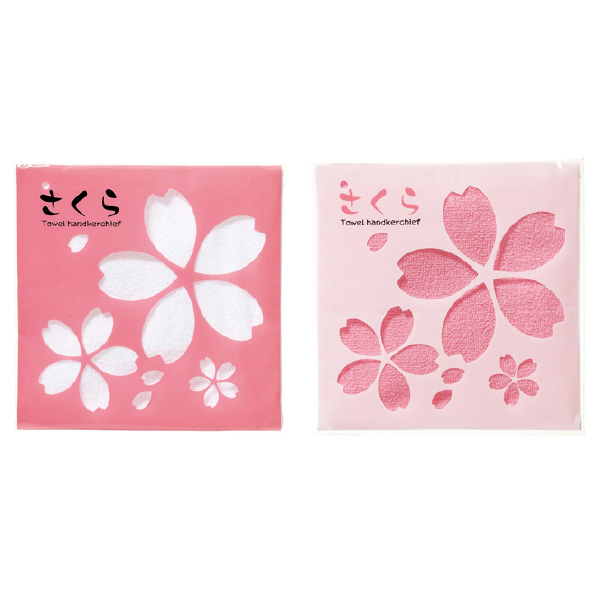 【まとめ買い10個セット品】 さくらタオルハンカチ180枚 【桜 サクラ さくら 春 景品 プレゼント 雑貨 イベント 装飾】