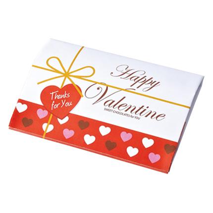 バレンタインハートチョコケース100個