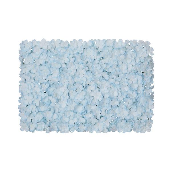 【まとめ買い10個セット品】 あじさい壁掛けマット ブルー1個
