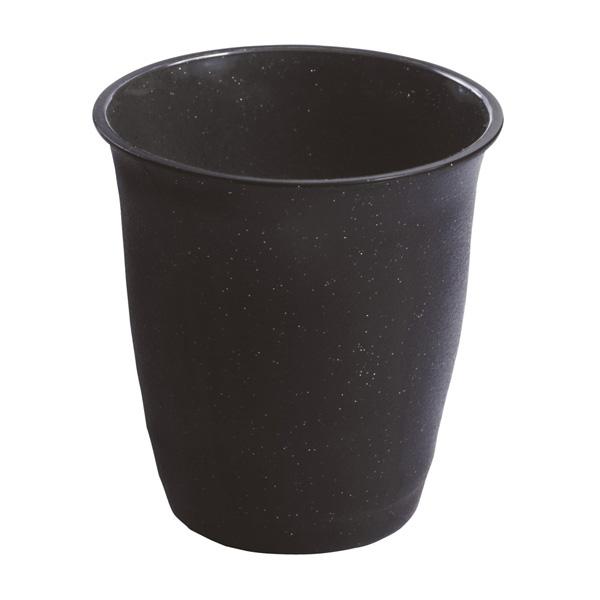 【まとめ買い10個セット品】 なごみカップ 黒 20個