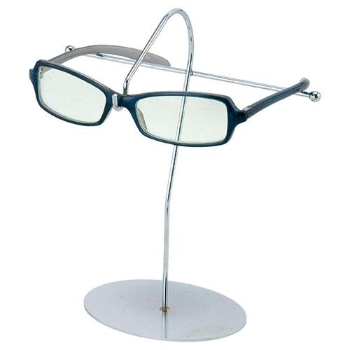 【まとめ買い10個セット品】 卓上メガネ掛け 1段【店舗什器 パネル めがねかけ 棚 店舗備品】