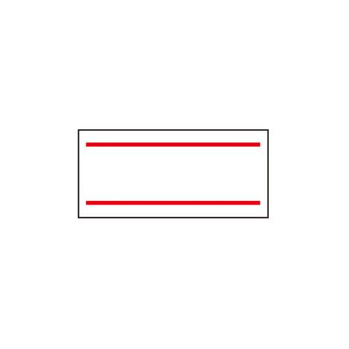 【まとめ買い10個セット品】 サトーラベラーUNO用シール 2本線 10巻【店舗什器 スーパー 値札 アパレルなど 店舗備品】