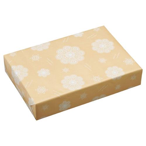 【まとめ買い10個セット品】 レースィ 包装紙 半裁 50枚【店舗備品 包装紙 ラッピング 袋 ディスプレー店舗】