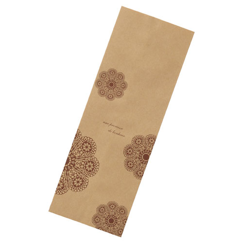 【まとめ買い10個セット品】レースィ 平袋 8.5×24 200枚【 店舗備品 包装紙 ラッピング 袋 ディスプレー店舗 】