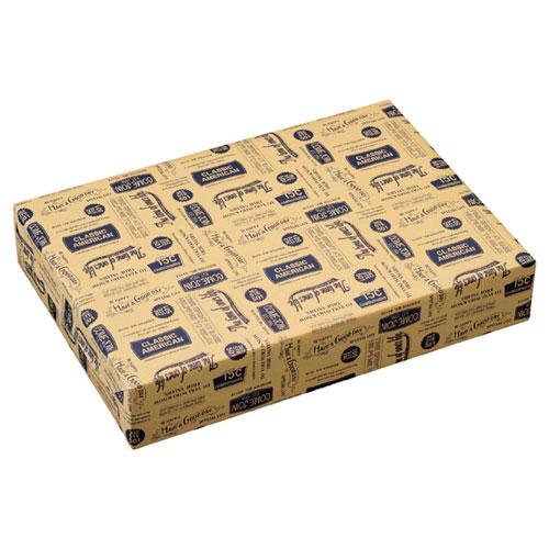 【まとめ買い10個セット品】 アメリカンヴィンテージ 包装紙 半裁 500枚【店舗什器 小物 ディスプレー ギフト ラッピング 包装紙 袋 消耗品 店舗備品】