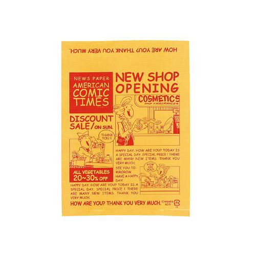 【まとめ買い10個セット品】 アメリカンコミック ギフトバッグ 13×18 8000枚【店舗什器 小物 ディスプレー ギフト ラッピング 包装紙 袋 消耗品 店舗備品】
