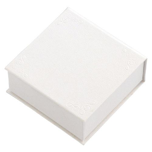 【まとめ買い10個セット品】アクセサリーボックス(マグネットタイプ) 中 ホワイト 20個【 店舗什器 パネル 壁面 小物 ディスプレー 店舗備品 】