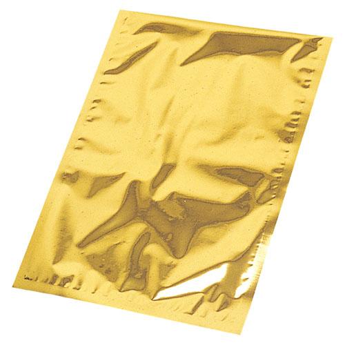 【まとめ買い10個セット品】メタリックギフトバッグ ゴールド 36×46 10枚【 店舗什器 小物 ディスプレー ギフト ラッピング 包装紙 袋 消耗品 店舗備品 】