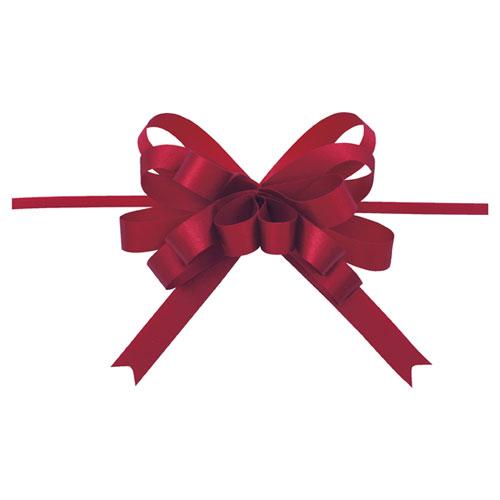 【まとめ買い10個セット品】 ループボウ ワイン 50個【店舗備品 包装紙 ラッピング 袋 ディスプレー店舗】