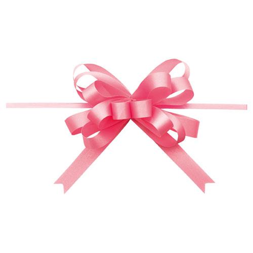 【まとめ買い10個セット品】 ループボウ ピンク 50個【店舗備品 包装紙 ラッピング 袋 ディスプレー店舗】