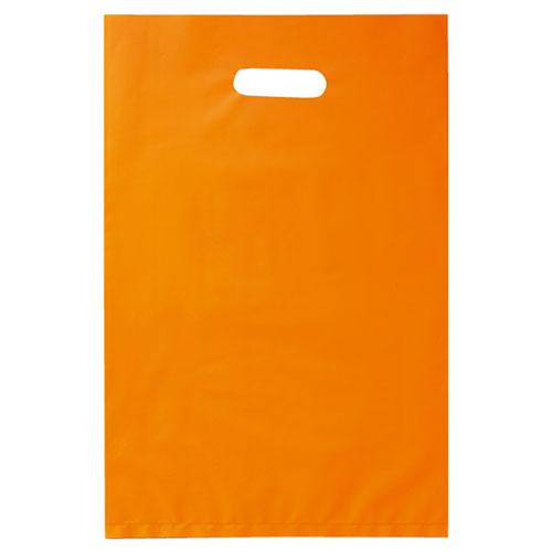 【まとめ買い10個セット品】 ポリ袋ソフト型 カラー オレンジ 40×50 500枚【店舗什器 小物 ディスプレー ギフト ラッピング 包装紙 袋 消耗品 店舗備品】