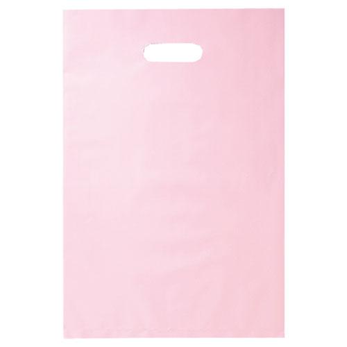 【まとめ買い10個セット品】 ポリ袋ソフト型 カラー ピンク 40×50 500枚【店舗什器 小物 ディスプレー ギフト ラッピング 包装紙 袋 消耗品 店舗備品】