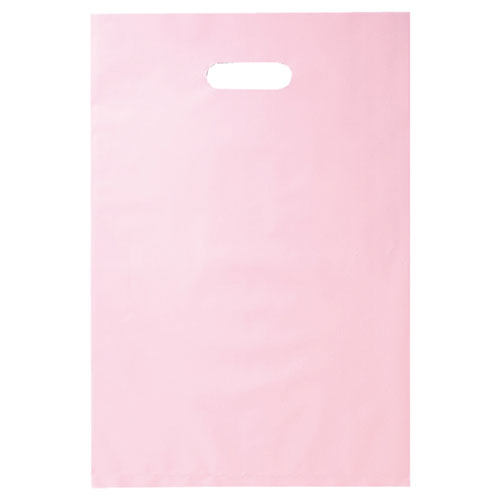 【まとめ買い10個セット品】 ポリ袋ソフト型 カラー ピンク 50×60 500枚【店舗什器 小物 ディスプレー ギフト ラッピング 包装紙 袋 消耗品 店舗備品】