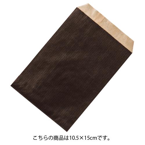 【まとめ買い10個セット品】 筋入りカラークラフト ブラウン 10.5×15 6000枚【店舗什器 小物 ディスプレー ギフト ラッピング 包装紙 袋 消耗品 店舗備品】