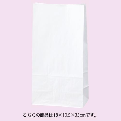 【まとめ買い10個セット品】 白無地 18×10.5×35 100枚
