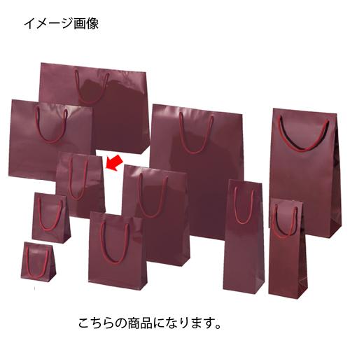 ブライトバッグ エンジ 17×8.5×23 50枚【店舗備品 包装紙 ラッピング 袋 ディスプレー店舗】