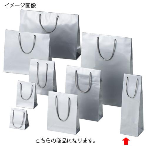 ブライトバッグ シルバー 11×10×36.5 50枚【店舗什器 小物 ディスプレー ギフト ラッピング 包装紙 袋 消耗品 店舗備品】