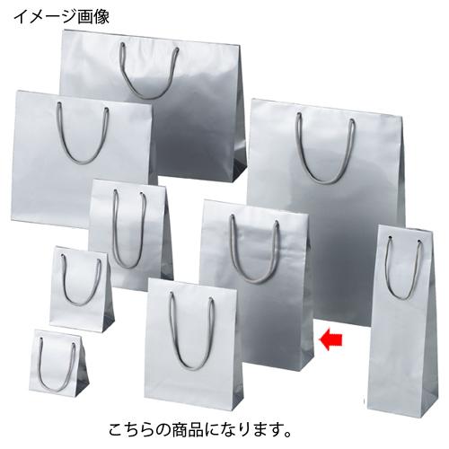 ブライトバッグ シルバー 22.5×8×32 50枚【店舗什器 小物 ディスプレー ギフト ラッピング 包装紙 袋 消耗品 店舗備品】