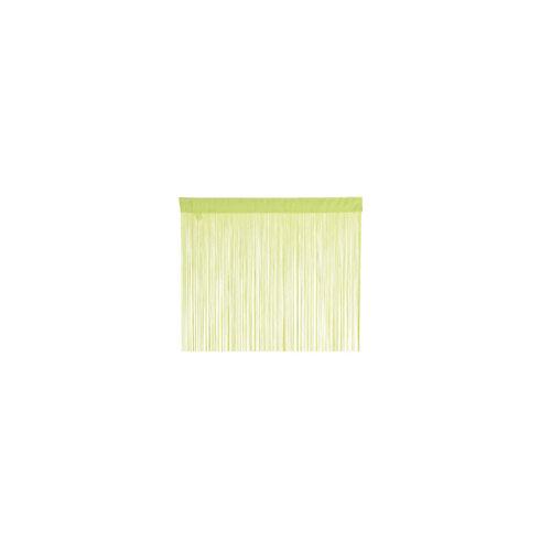 【まとめ買い10個セット品】 ストリングスカーテン W85cm H210cm グリーン 【メーカー直送/代金引換決済不可】【店舗備品 店舗インテリア 店舗改装】