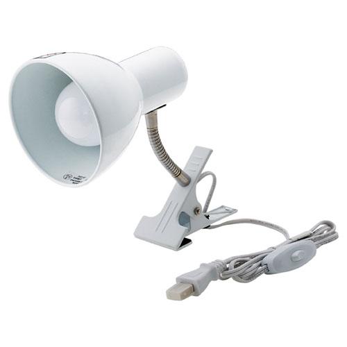 【まとめ買い10個セット品】 クリップ式LEDライト 白色【照明 インテリア 店舗内装 店舗改装 おしゃれな センス】