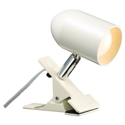 【まとめ買い10個セット品】 LEDクリップライト 電球色 アイボリー【照明 インテリア 店舗内装 店舗改装 おしゃれな センス】