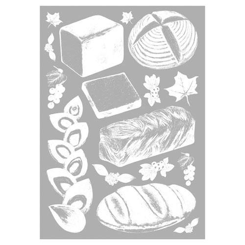 【まとめ買い10個セット品】 ウインドウシール ブレッド ブレッド【店舗什器 小物 ディスプレー POP ポスター 消耗品 店舗備品】