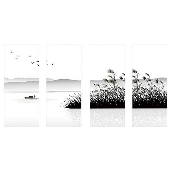 LEDフロアーランプ ともしび 葦と雁
