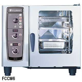 フジマック 業務用コンビオーブン FCCMシリーズ ガス式 FCCM6G W847×D771×H757 【 メーカー直送/後払い決済不可 】
