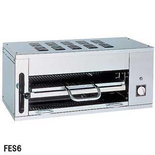 フジマック 業務用電気サラマンダー FES6 W1000×D395×H430【 メーカー直送/後払い決済不可 】