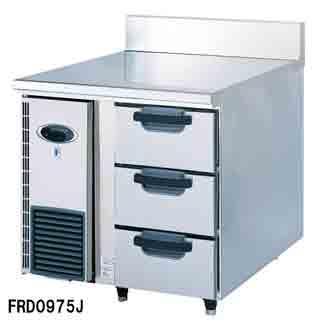 フジマック 業務用ドロワーコールドテーブル FRD0975J W900×D750×H850 【 メーカー直送/後払い決済不可 】