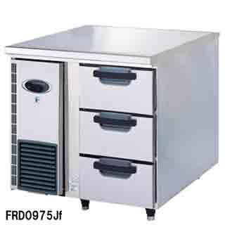 フジマック 業務用ドロワーコールドテーブル FRD0975JF W900×D750×H850【 メーカー直送/後払い決済不可 】