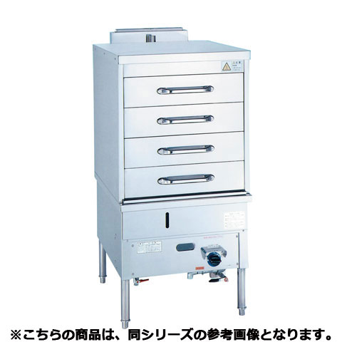 フジマック ガス蒸し器(ドロワータイプ) SBS-3 12A・13A(天然ガス)【 メーカー直送/代引不可 】
