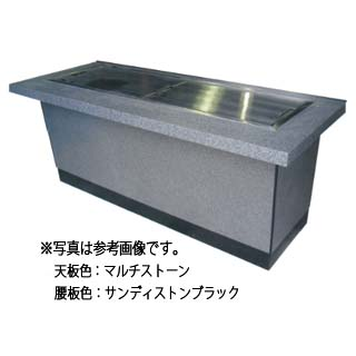 IKK 業務用 お好み焼きカウンター ラインミガキ仕様 IM-8240S 【 メーカー直送/代引不可 】 【受注生産:納期1ヶ月程】