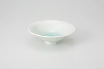 【まとめ買い10個セット品】和食器 青白瓷 反型4.0鉢 36K062-06 まごころ第36集 【キャンセル/返品不可】